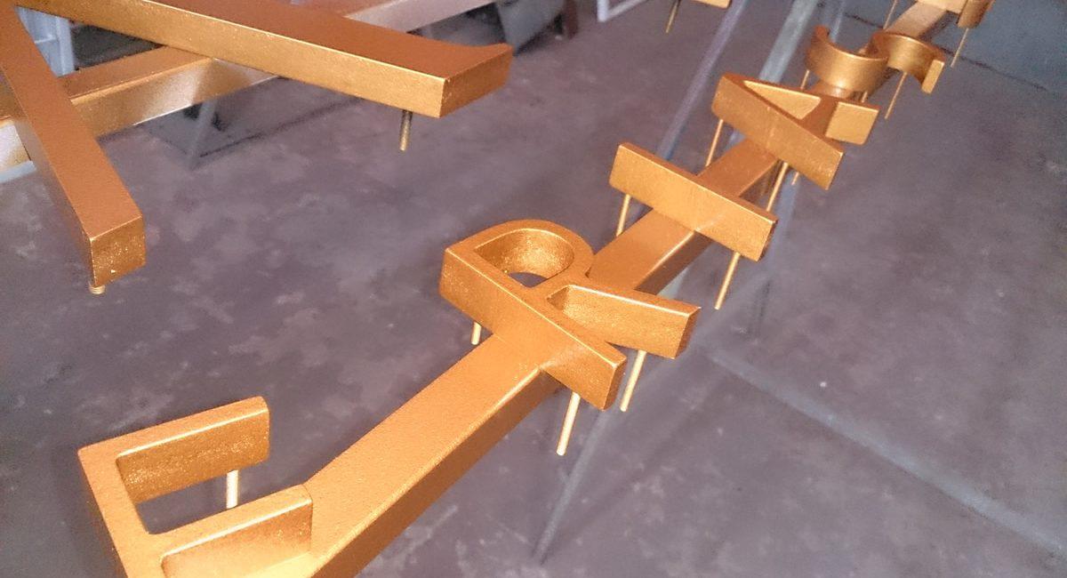 Norneón rótulos corpóreos PVC3