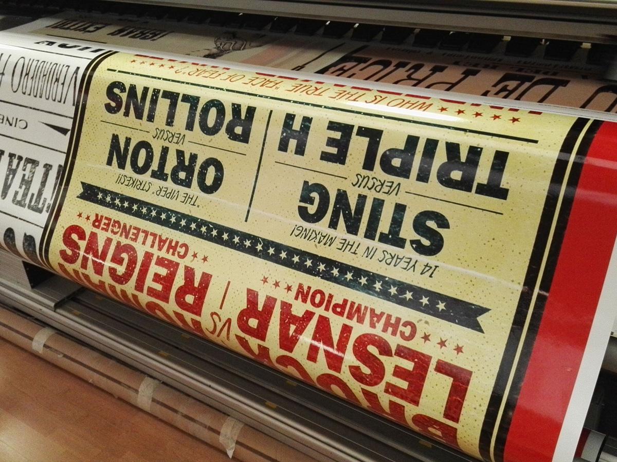 Impresión digital Norneón en máquina