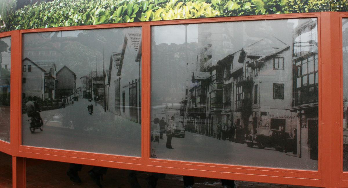 Norneón Impresión digital aplicada por el interior de cristal